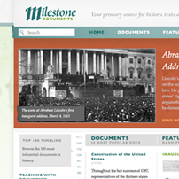 Milestone Documents Site - home page